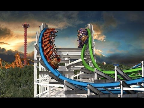 Six Flags Twisted Colossus POV New For 2015! Magic Mountain Roller Coaster Animation B-Roll - http://rollercoasterhq.net/six-flags-twisted-colossus-pov-new-for-2015-magic-mountain-roller-coaster-animation-b-roll/