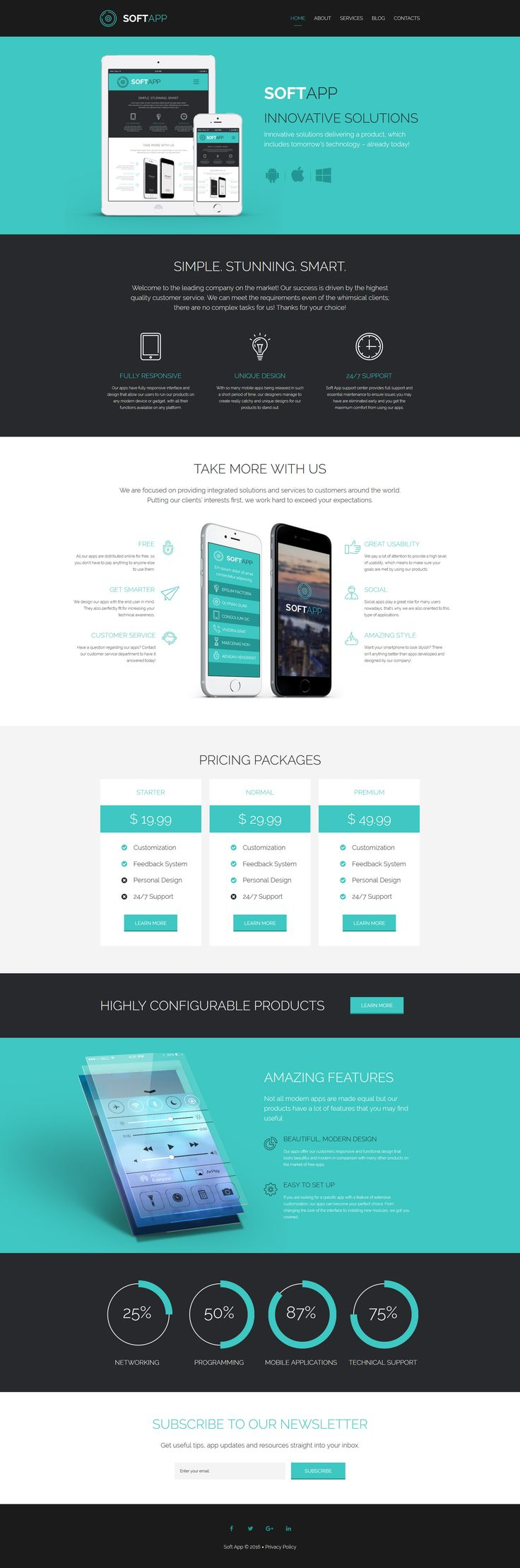 Software Responsive Website Template - http://www.templatemonster.com/website-templates/software-responsive-website-template-59166.html