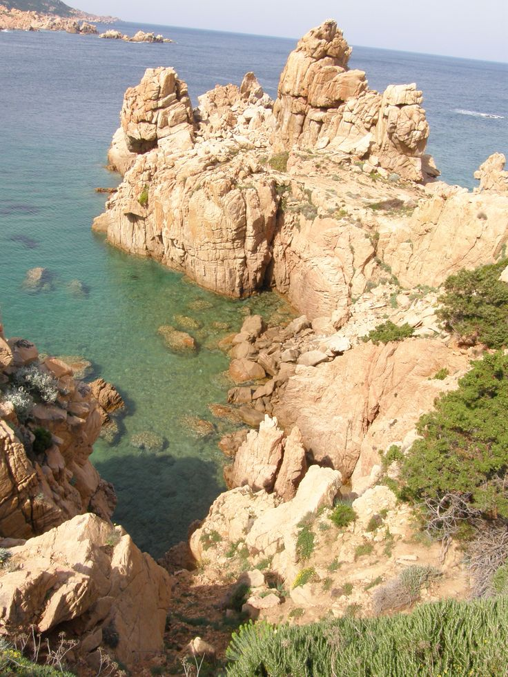 Zátoky Sardinie (The bays of Sardinia)