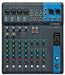 Harga Mixer Audio Yamaha Model MG10