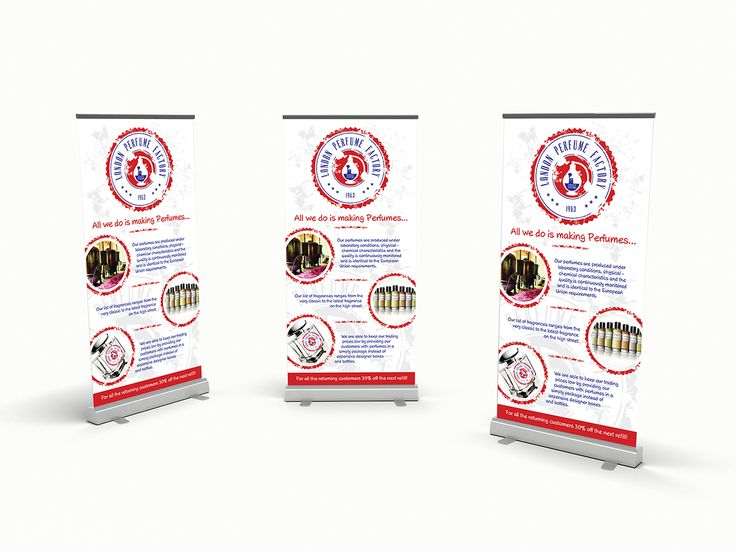 London Perfume Factory - banner design