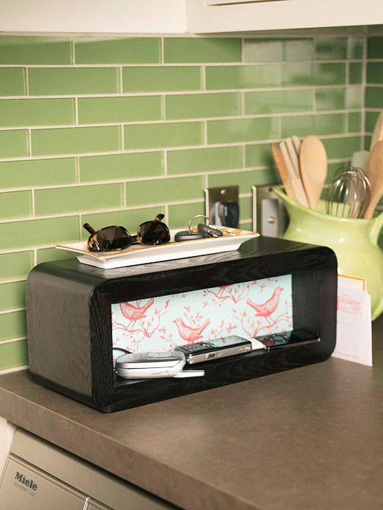 Organize Now Simple Weekend Projects Phone Charging Stationscharging