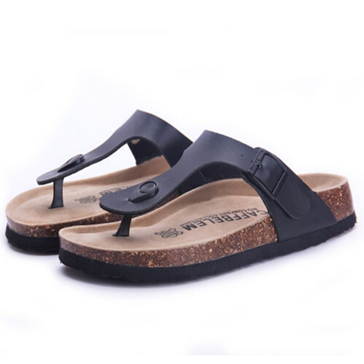 Fashion Women Slippers Flip Flops Summer Beach Cork Shoes Slides Girls Flats Sandals Casual Shoes Mixed Colors Plus Size 35-40 - CattleyaStore CattleyaStore