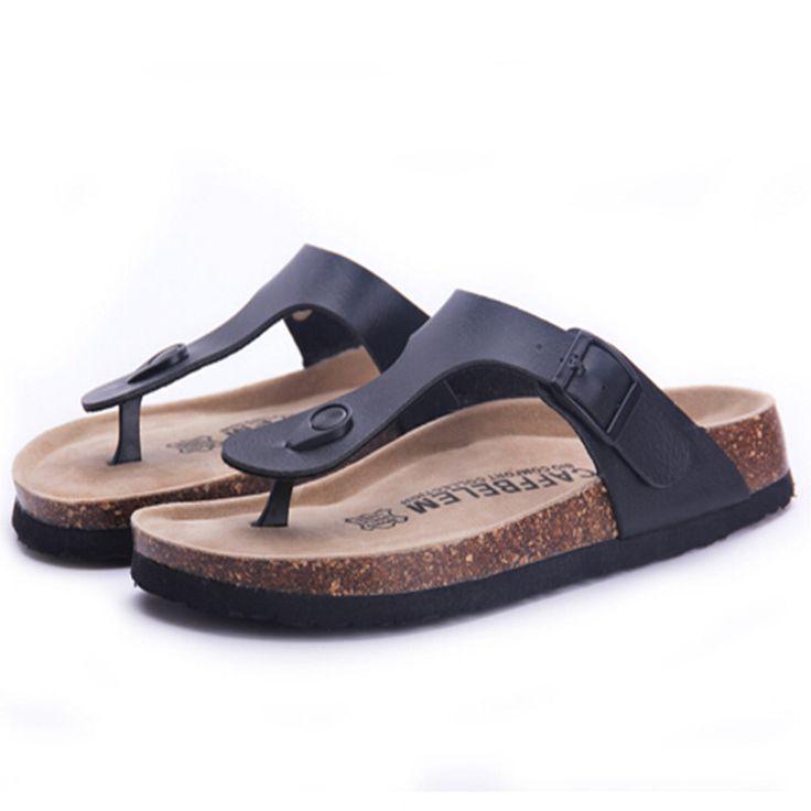 Fashion Women Slippers Flip Flops Summer Beach Cork Shoes Slides Girls Flats Sandals Casual Shoes Mixed Colors Plus Size 35-40 - CattleyaStore CattleyaStore