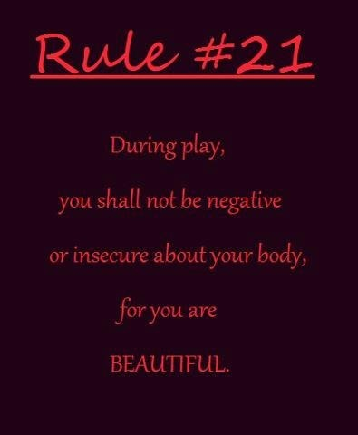 Rule #21 You are Beautiful