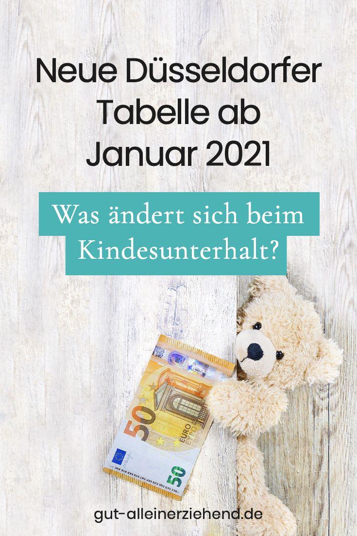 Dusseldorfer Tabelle Mit Zahlbetrag Ab 1 1 2021 Gut Alleinerziehend In 2020 Erziehung Alleinerziehend Kindesunterhalt