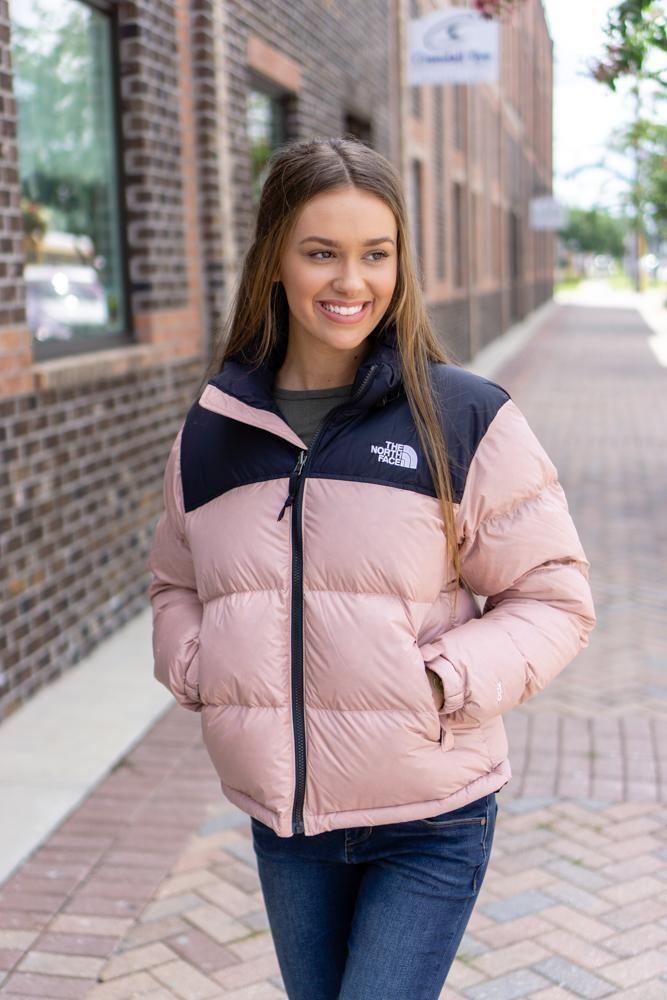 North Face Women S 1996 Retro Nuptse Jacket Misty Rose Products