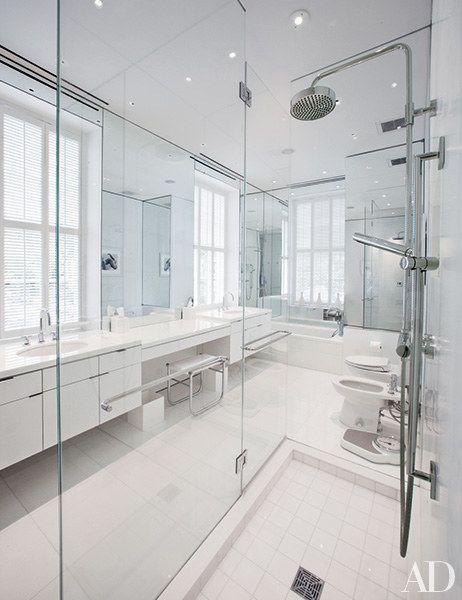 881 best images about design proposal bathroom on for Architectural digest bathroom designs
