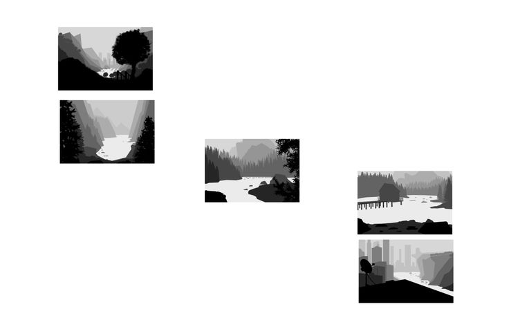 Just 5 landscapes...OH WAIT, with waaaater.