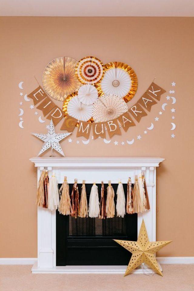 بالصور طرق مختلفة لتزيين المنزل في عيد الأضحى Ramadan Decorations Eid Decoration Diy Eid Decorations