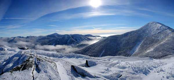 Wright Peak is the 16th highest mountain in New York, so it offers spectacular view during all seasons.