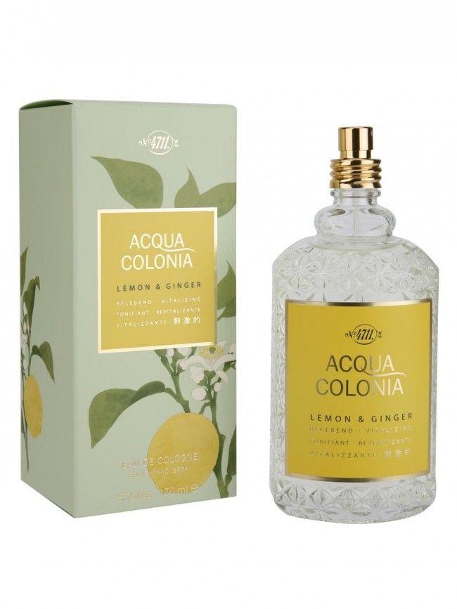 Profumo Unisex 4711 Acqua Colonia Lemon & Ginger Eau de Cologne confezione da 170 ml    Fragranza del gruppo aromatico da donna e da uomo, lanciato sul mercato nel 2009.   La fragranza contiene note di Limone di Amalfi e Zenzero.