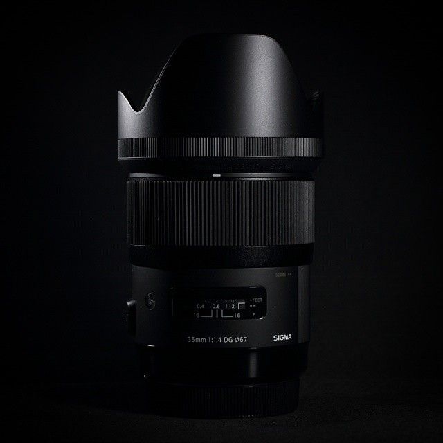 """My new Toy ♡♡♡ SIGMA 35mm 1.4 ART Such an awesome and abnormal sharp lense! It's my new number ONE!  #sigma #35mm14 #sigma35mmart #sigmaphoto #sigmaart…"""