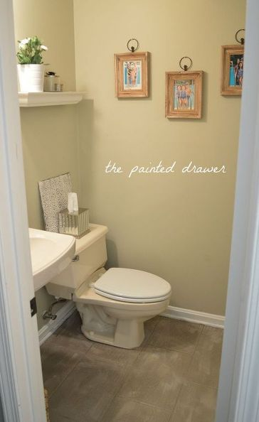 how to create the look of a stone floor out of old linoleum  bathroom ideas. 1000  ideas about Paint Linoleum on Pinterest   Painting linoleum
