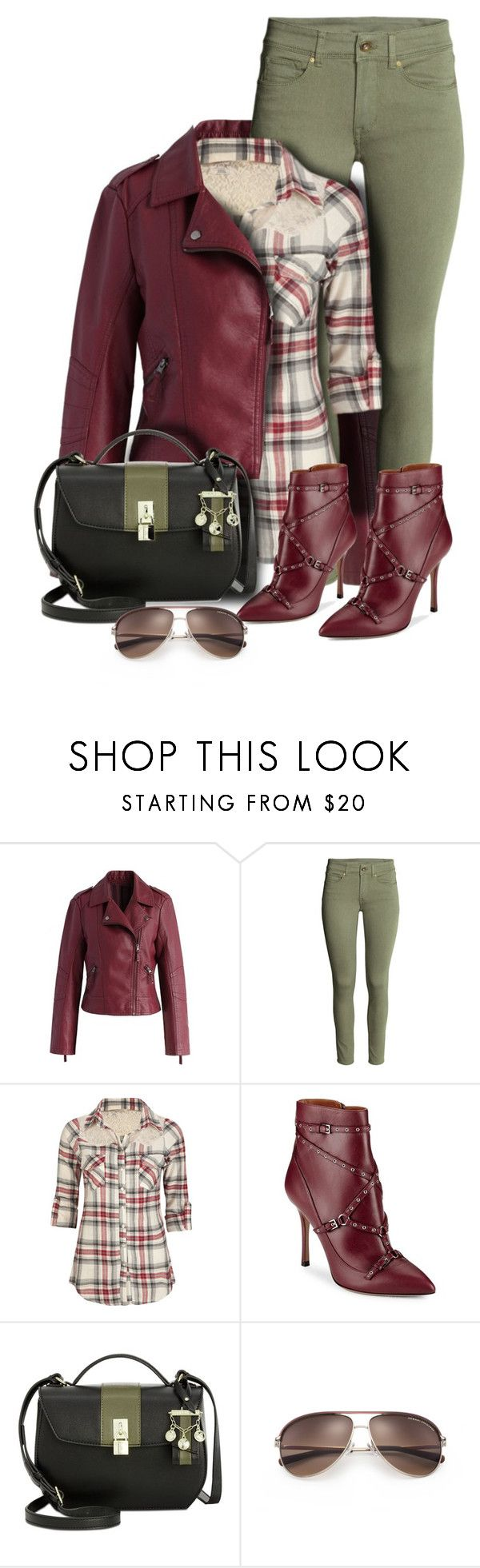 """Ankle boots"" by nicole-christie-mennen ❤ liked on Polyvore featuring Chicwish, Full Tilt, Valentino, Nine West and Armani Exchange"