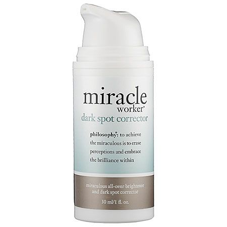 IF YOU NEED: An overnight skin brightener safe for sensitive skin. Philosophy Miracle Worker® Dark Spot Corrector