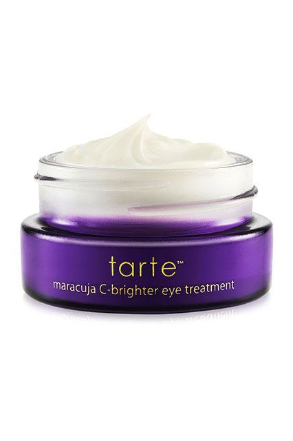 Tarte's Maracuja C Brighter Eye Treatment | These Eye Creams Are Like Coffee For Your Face #refinery29  http://www.refinery29.com/best-under-eye-cream#slide-1