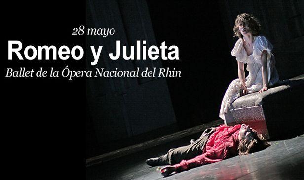 """Romeo y Julieta"""". Ballet de la Ópera Nacional del Rhin 28/05/05 www.navarracultural.com"""