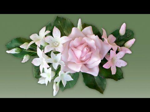 Schleierkraut aus Blütenpaste ist eine wunderschöne Füllblume für Rosengestecke. Es braucht zwar Geduld und Zeit, dafür ist der Effekt wunderschön zart. Spez...
