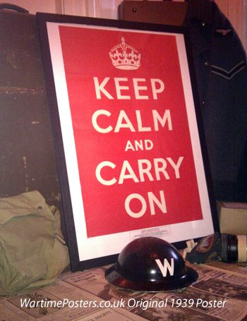 Barter books keep calm and carry on
