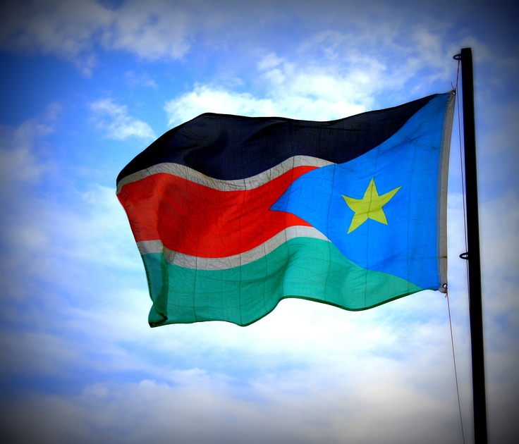 South Sudan Flag or Southern Sudan flag #flags http://www.flagsonline.it/asp/flag.asp/flag_southern%20sudan/southern%20sudan.html