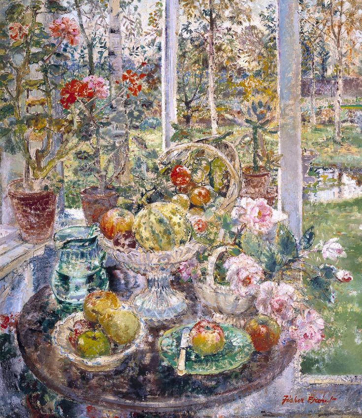 Margaret Fisher Prout (1875-1963) — Home Grown, 1952  : The Tate, London.  UK  (1332×1536):