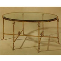 Traditional Cocktail Table From La Barge Inc., Model: LT3611