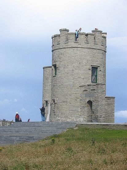 Castle - Cliffs of Moher, Castlebar, Ireland