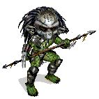 predator gif   do you like this gif of predator film chibi predator