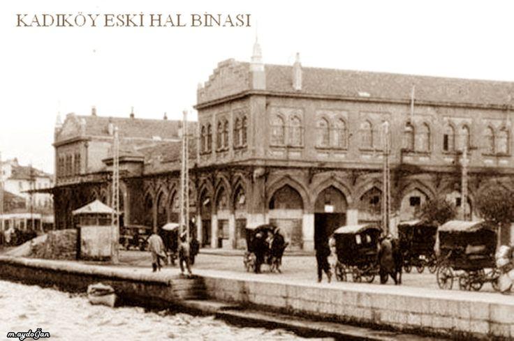 Günümüzde Kadıköy Rıhtım'da Haldun Taner Sahnesinin olduğu yer