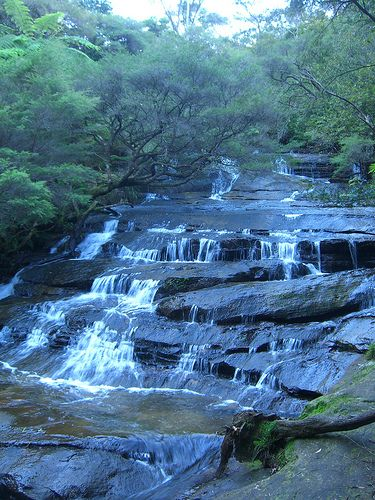 Leura Cascades, Blue Mountains National Park, Australia