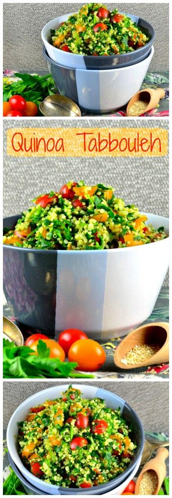 May I Have That Recipe | Not Just For Passover Recipes: Quinoa Tabbouleh | http://mayihavethatrecipe.com