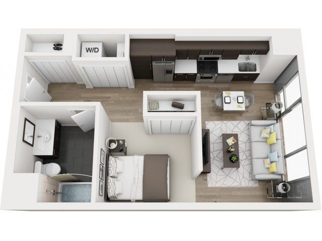 Pin By Msyahier Mbakri On Patio Design Ideas Studio Apartment Floor Plans Apartment Floor Plans Studio Floor Plans