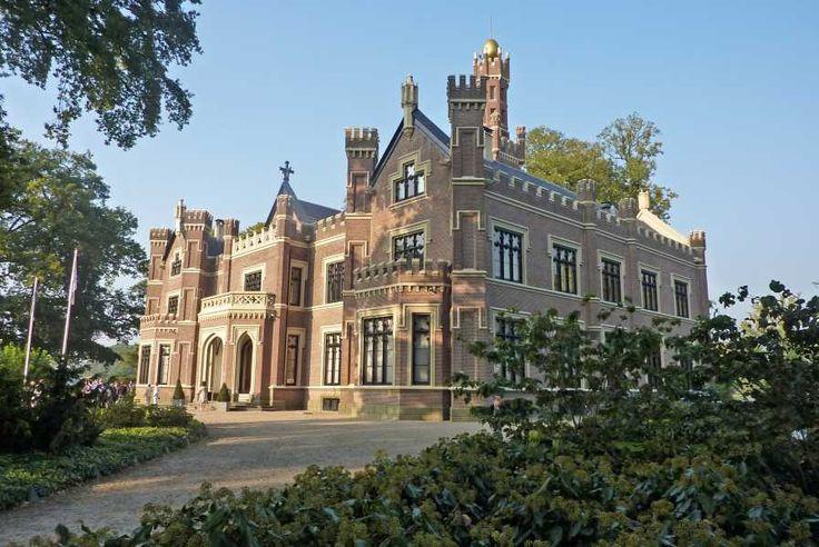 """Barneveld (Gelderland) - Castle / Schloss / Château """"Schaffelaar"""""""