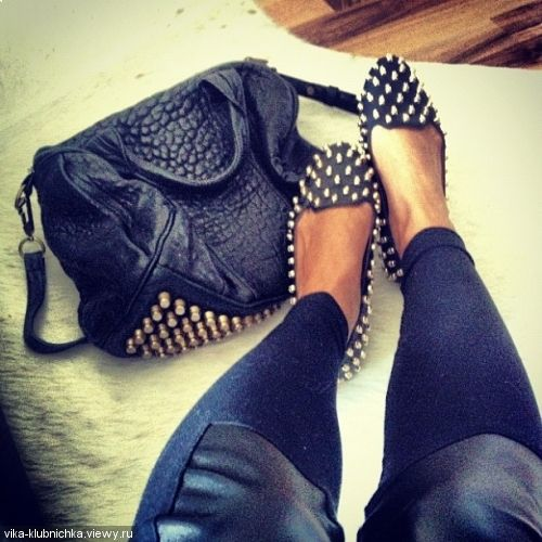 studs & my bag