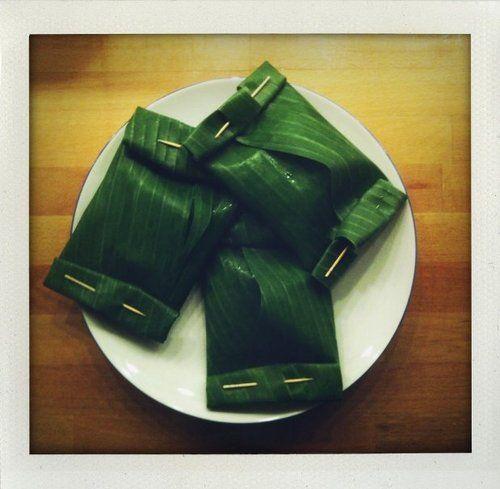 Cuisiner avec des feuilles de bananiers, vous avez déjà essayé ? Non ? C'est le moment de tester avec @BjorgOfficiel !