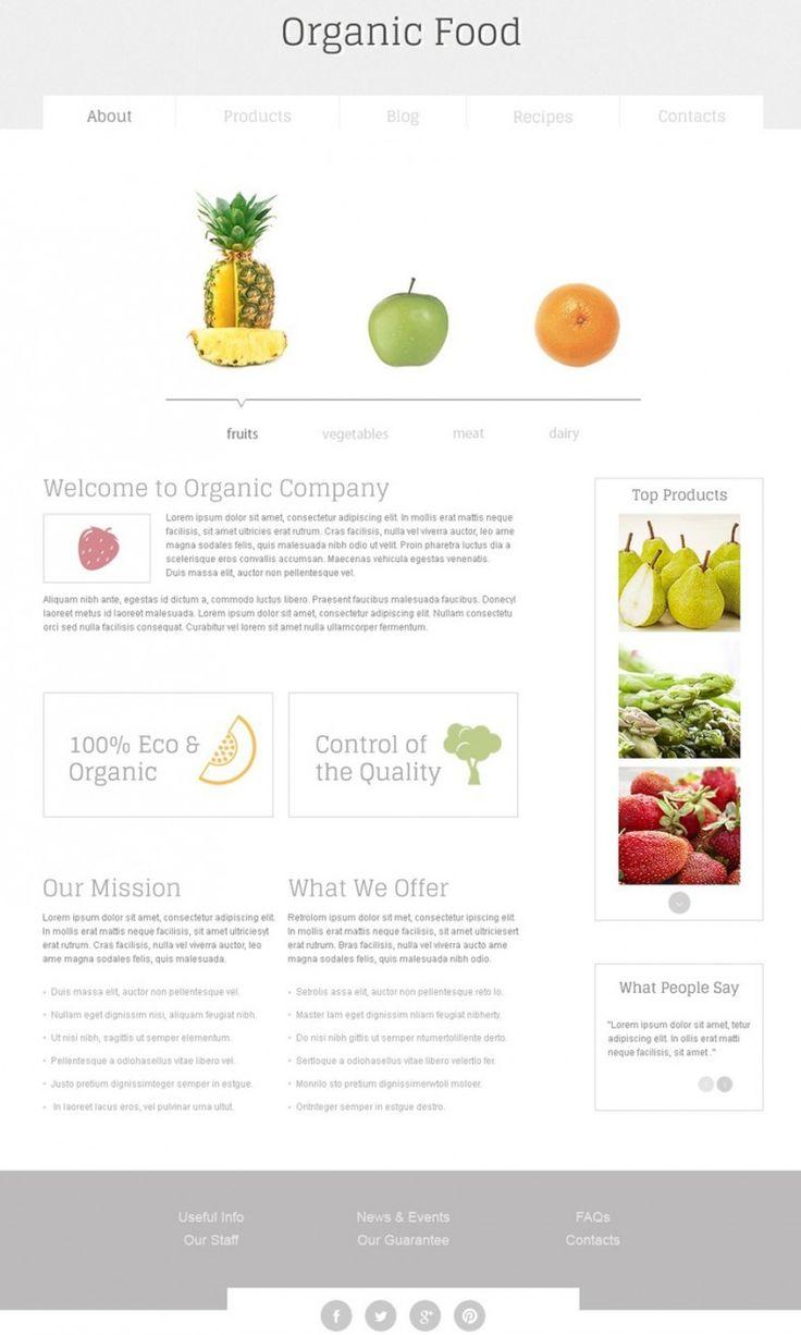 190 besten Free Templates Bilder auf Pinterest | Webdesign ...