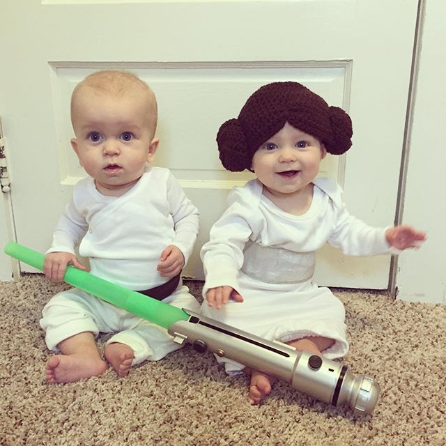 The original twins: Luke & Leia