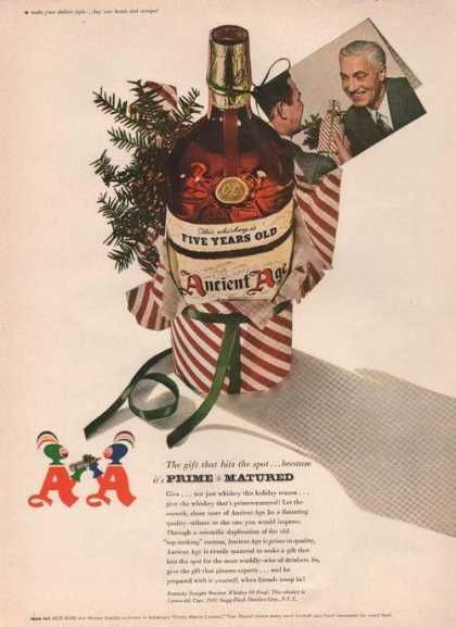 Prime Matured Ancient Age Whiskey (1942)