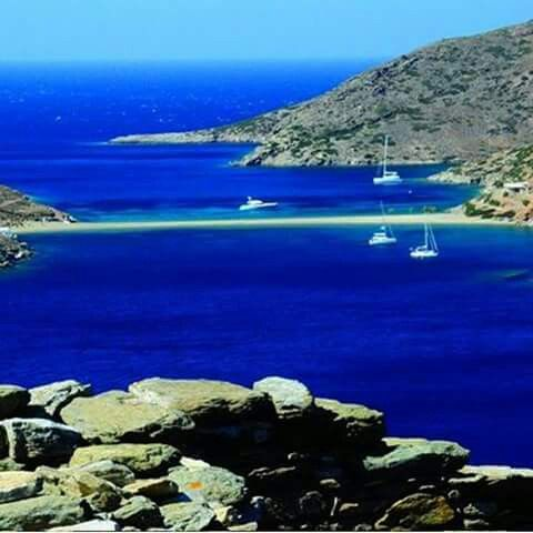 Kithnos island Greece