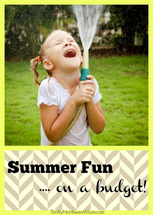 Summer Fun Ideas on a Budget – Entertainment for Kids & Families