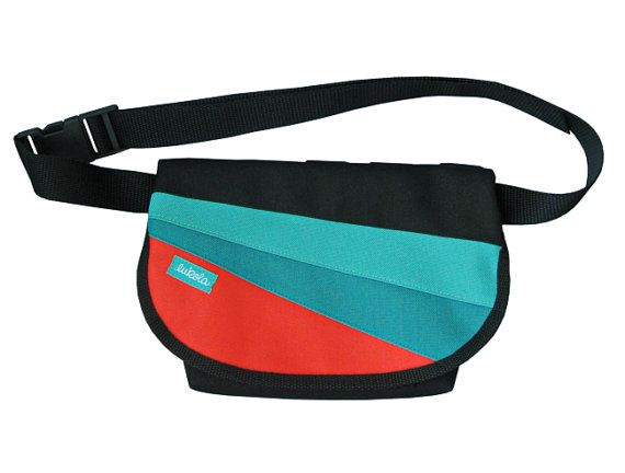 Waterproof bike hip bag P4 bike bag cycling traveling by lukola, $40.00