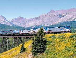 Give the Train a Try-Amtrak: This is the Amtrak official site…ever thought of traveling the country by train?  This site gives you everything you need to book your trip!