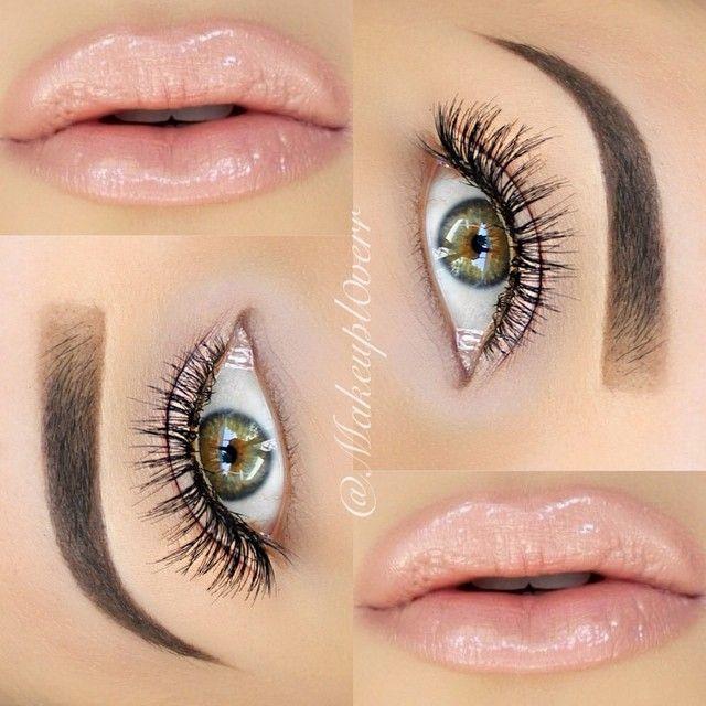 Clean & Simple everyday makeup look