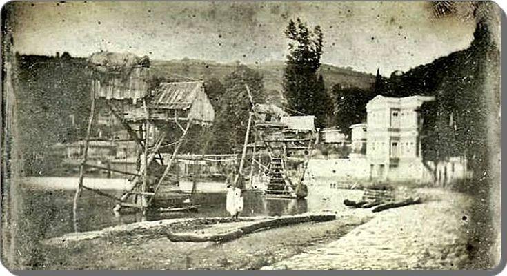 Beykoz - 1843 İstanbul'da çekilen ilk fotoğraflardan. (Joseph-Philibert Girault de Prangey) Beykoz dalyanı olabilr