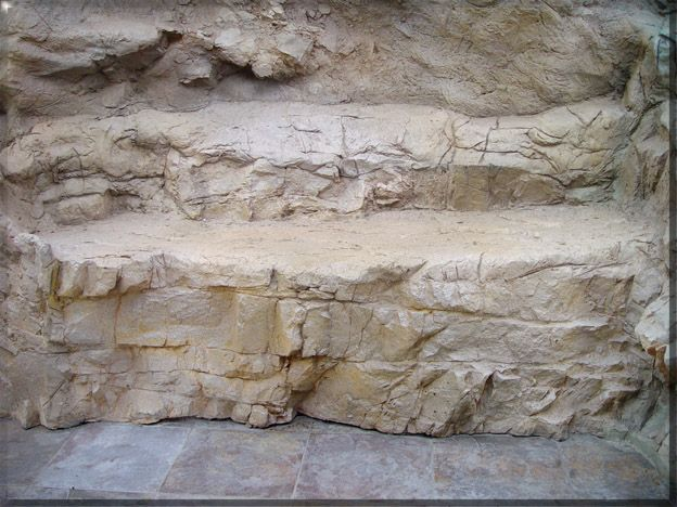 Stamped Concrete Panels : G f r c rock panels grotos waterfalls stamped concrete