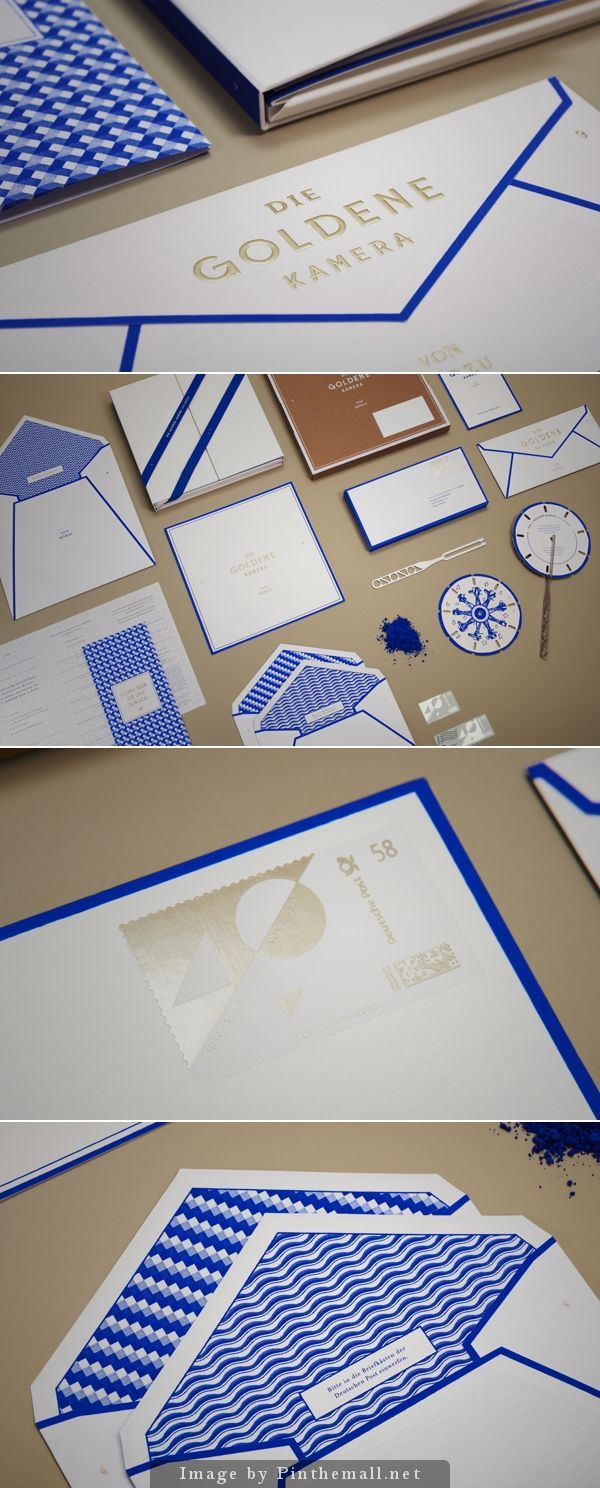 THE GOLDEN CAMERA 2014 - great stationery set