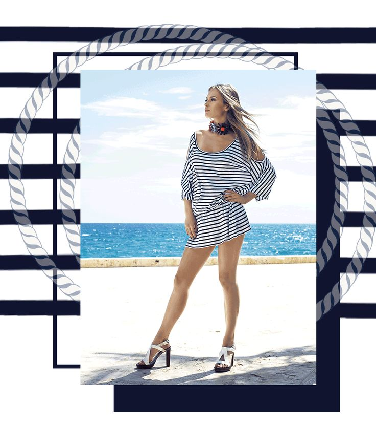 Navy Style resort wear abiti   e cover up