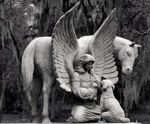 Pet Cemetery Angel by TheArtOfSadness.deviantart.com on @deviantART