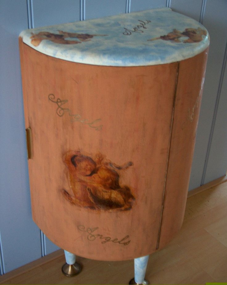 Restyled liquor cabinet